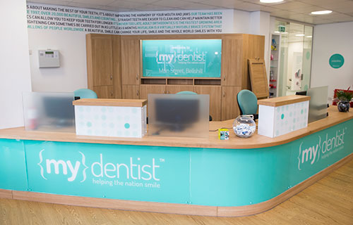 mydentist reception
