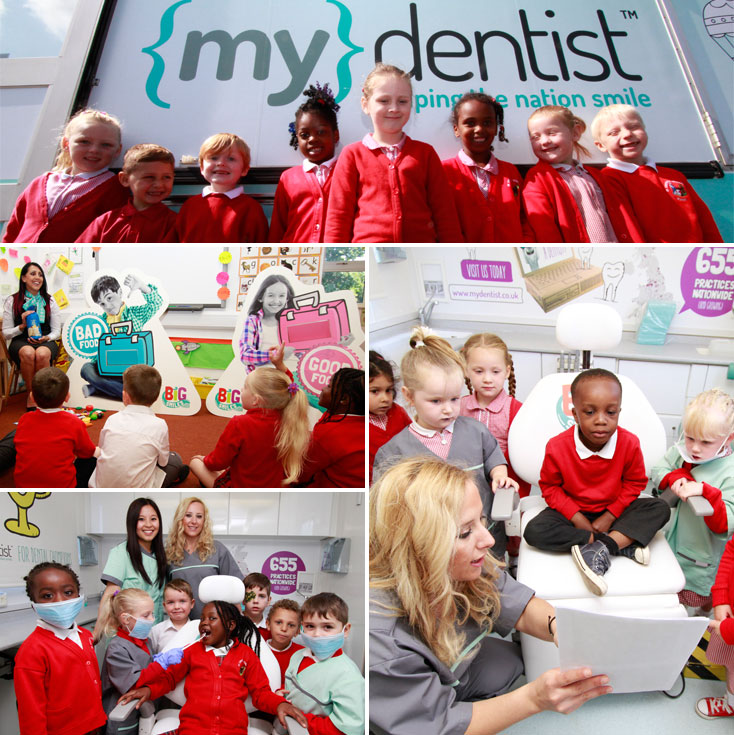 Kids\' club mobile dentist travels to primary school in Ordsall