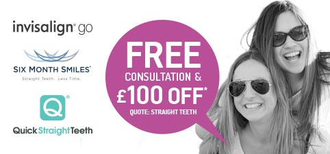 Cosmetic teeth straightening offer