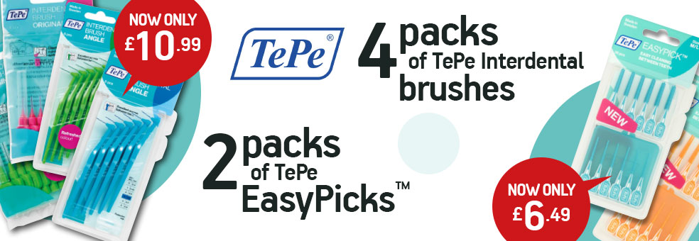 TePe Mix and match or Easy picks offer
