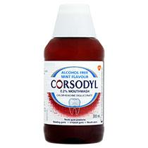 Corsodyl 0.2% Mouthwash (Alcohol Free)
