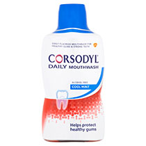 Corsodyl Daily Cool Mint Mouthwash 500ml