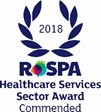 RoSPA health and safety Commended award 2018