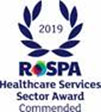 RoSPA health and safety Commended award 2019