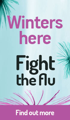 Winters here - Fight the flu
