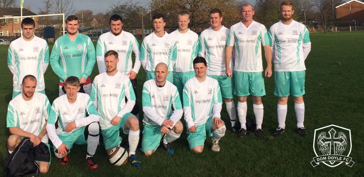 mydentist supports local football team set up in memory of practice managers nephew