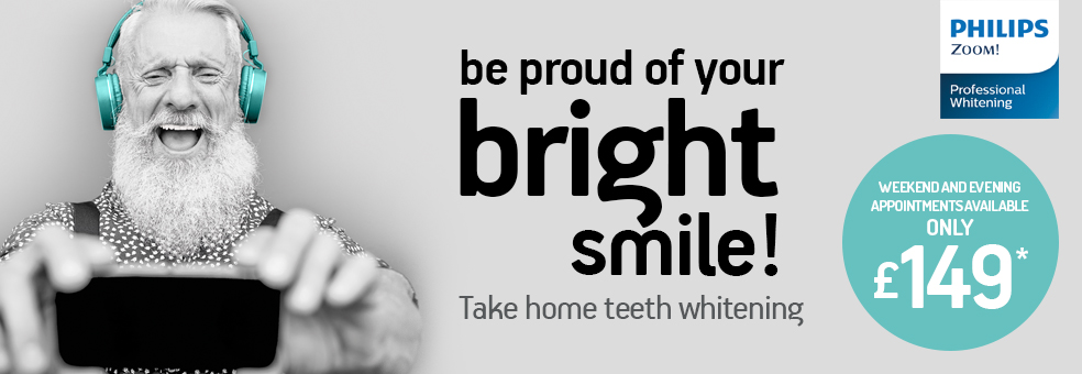 Teeth whitening from just £149*